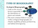 types of biogeography2