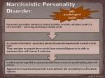 narcissistic personality disorder1