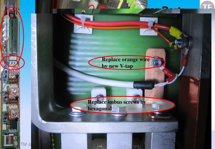 LS1 Actions details Power Part: