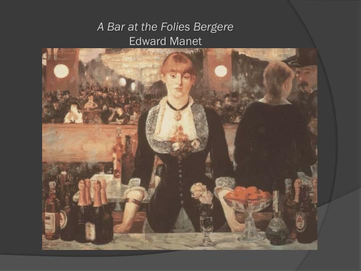 A Bar at the