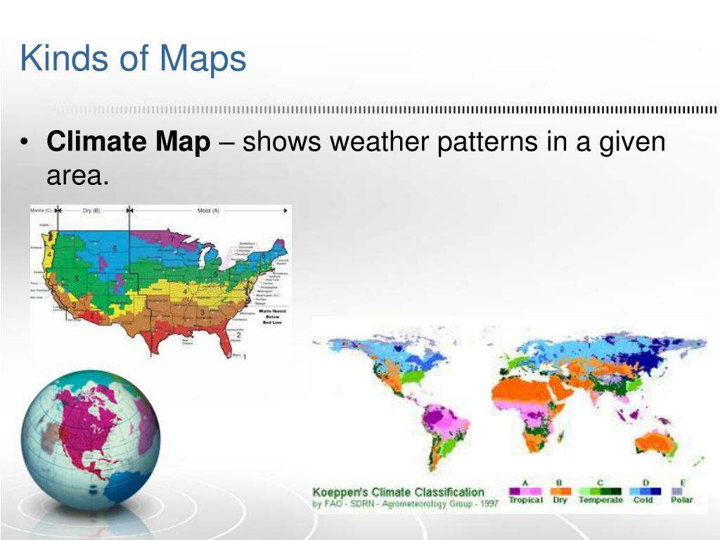 PPT - Map Skills PowerPoint Presentation - ID:2195411 Kinds Of Maps on