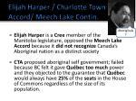 elijah harper charlotte town accord meech lake contin