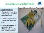 1 1 materials and methods