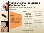 teoria liter ria conceitos e manifesta es1