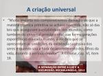 a cria o universal