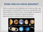 existe vida em outros planetas