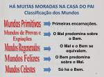 h muitas moradas na casa do pai classifica o dos mundos