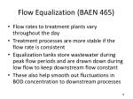flow equalization baen 465