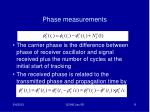 phase measurements1