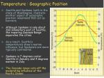 temperature geographic position2
