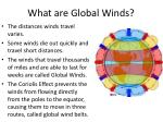 what are global winds