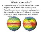 what causes wind
