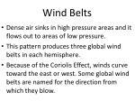 wind belts
