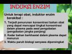 induksi enzim