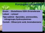 konjugasi glutation