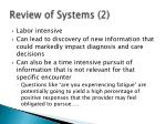 review of systems 2