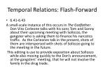 temporal relations flash forward