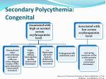 secondary polycythemia congenital