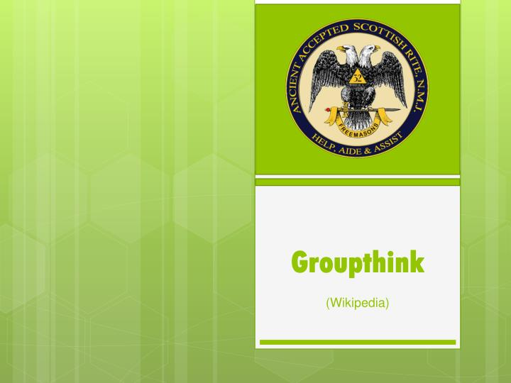 groupthink wikipedia n.