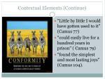 contextual elements continue1
