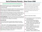 end of extreme poverty new green jobs