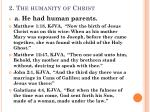 2 the humanity of christ1