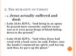 2 the humanity of christ5