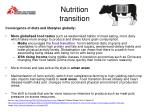 nutrition transition