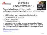 women s empowerment 1