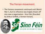 the fenian movement