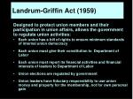 landrum griffin act 1959