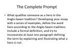 the complete prompt