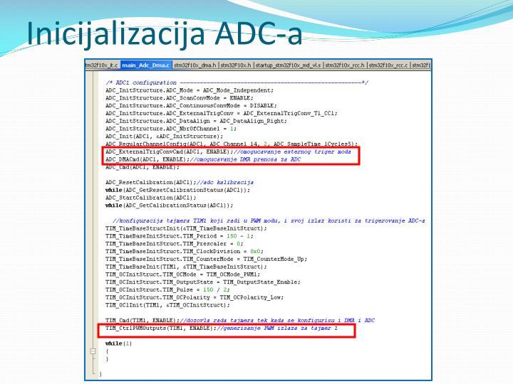 Inicijalizacija ADC-a