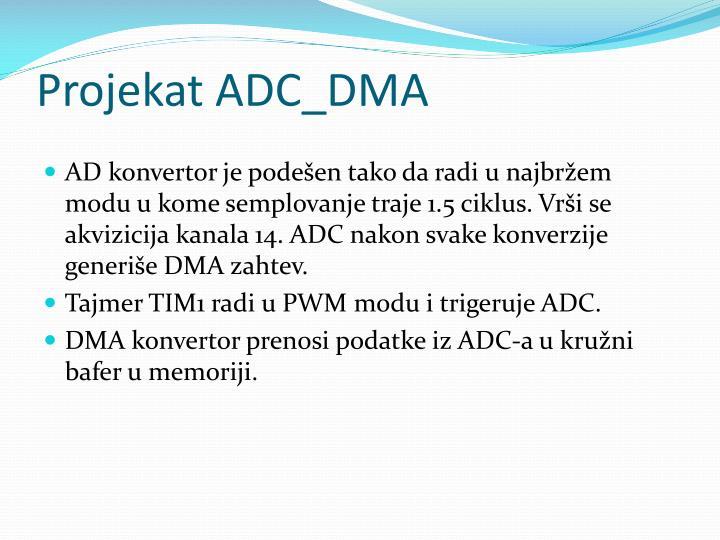 Projekat ADC_DMA