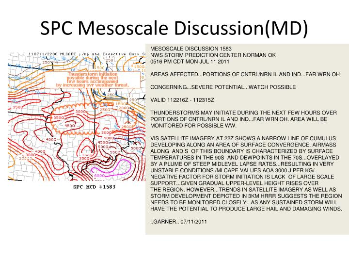 SPC Mesoscale Discussion(MD)