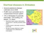 diarrheal diseases in zimbabwe