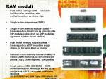 ram moduli