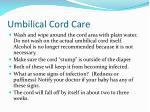 umbilical cord care