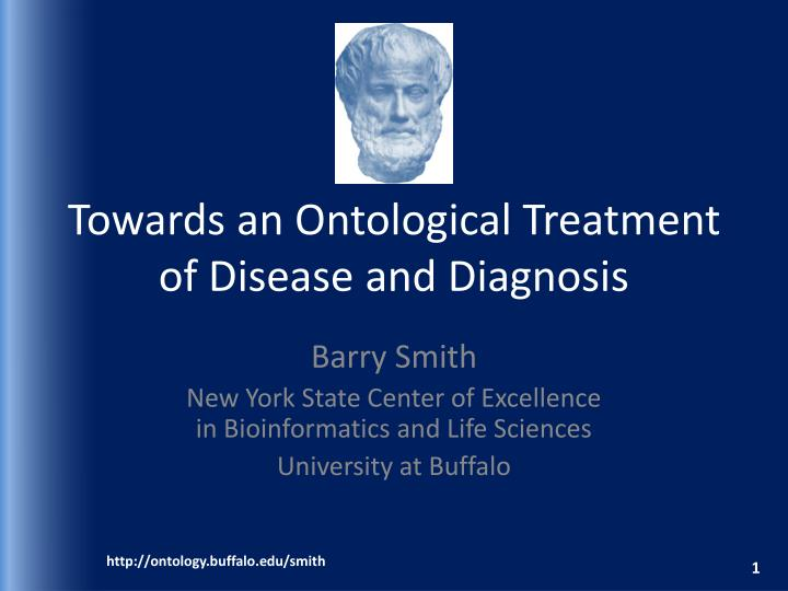 Towards an ontological treatment of disease and diagnosis