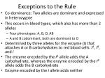 exceptions to the rule4