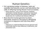 human genetics1