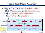basic task model assumed1