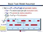 basic task model assumed3