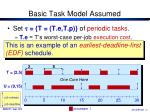 basic task model assumed4