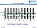 level a system