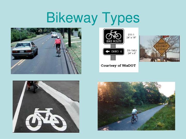Bikeway Types
