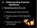 ii understanding practical obedience10