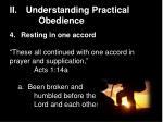 ii understanding practical obedience13