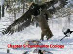 chapter 5 community ecology