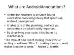 what are androidannotations